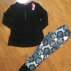 NWT Josie women 2 pcs pjs set